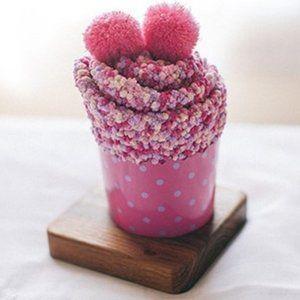 Fuzzy Socks (Cupcake)